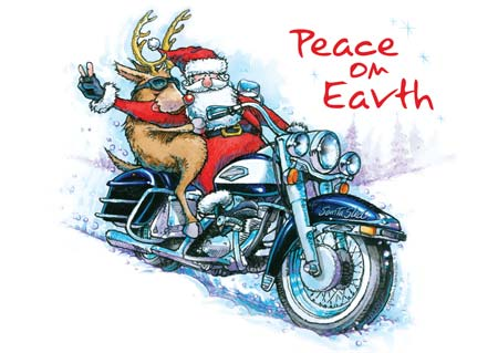 June Softly Biker Blog Harley Holiday Music 1