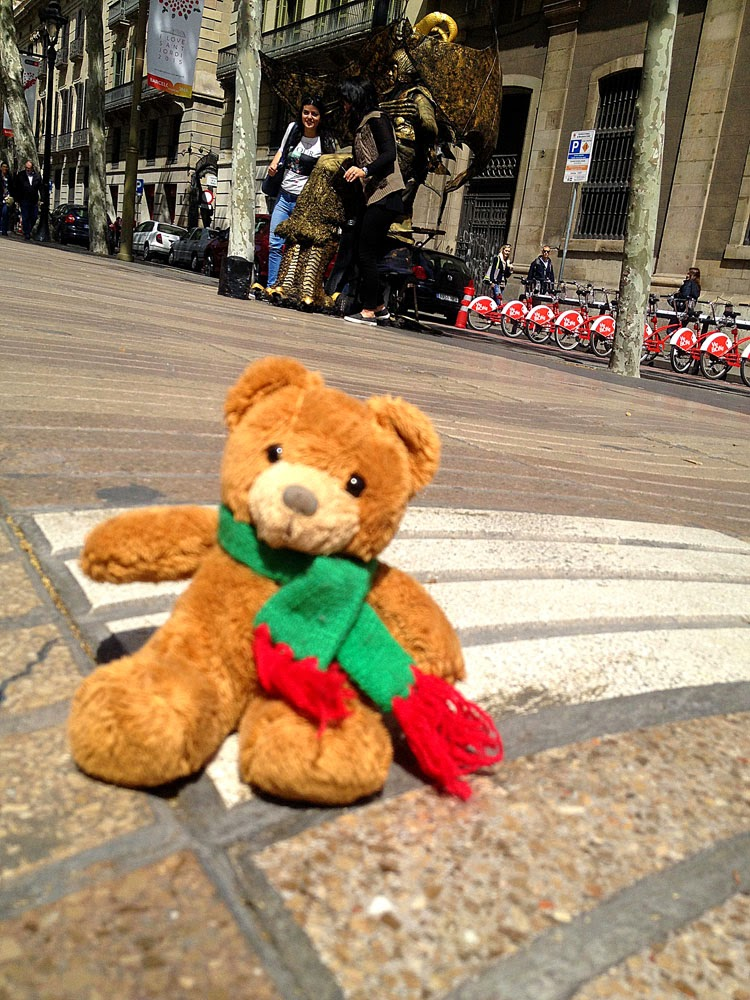 photos of Teddybär in Spain by Andie Gilmour