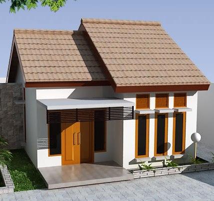 Anda akan banyak menemukan rumah minimalis type 36 seperti ini di ...