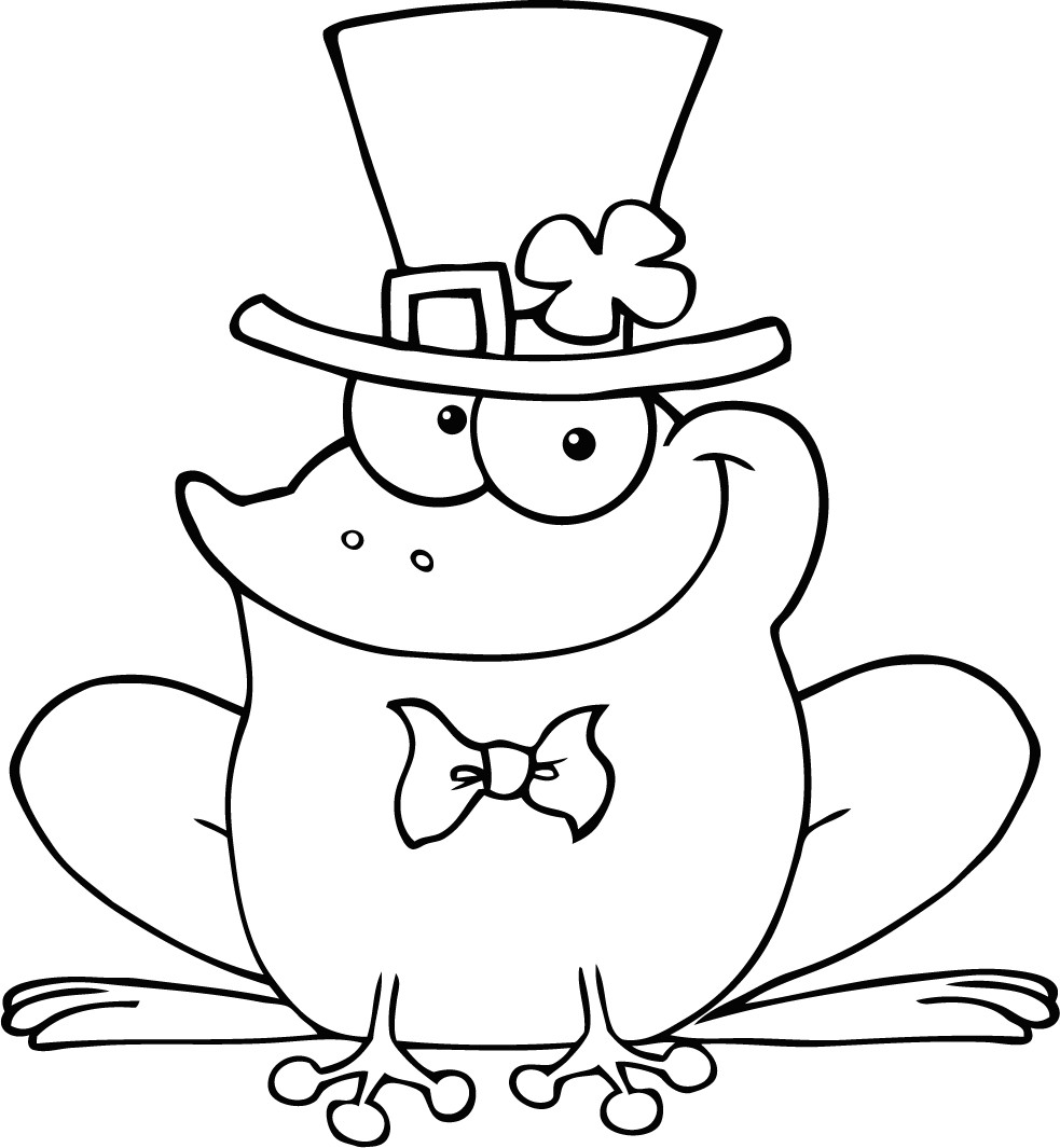 pictures of animals coloring kids cute frogs foto for coloring kids