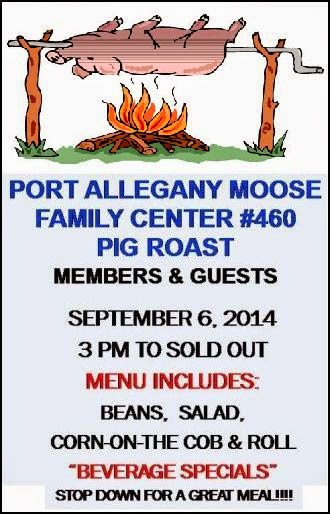 9-6 Pig Roast At Port Moose