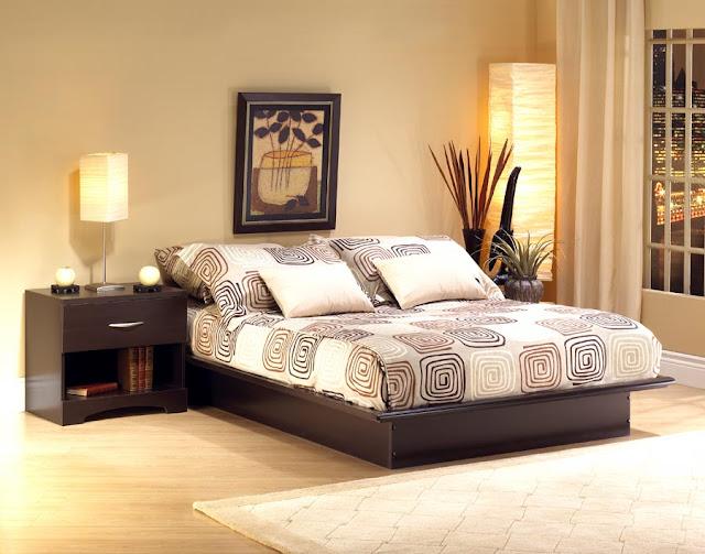 Desain Simple Untuk Kamar Tidur
