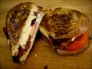 ... Kate's Kitchen: Grilled Goat Cheese, Brie, Bacon, and Tomato Sandwich