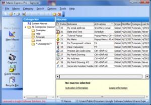 Macro Express Pro 4.3.0.1