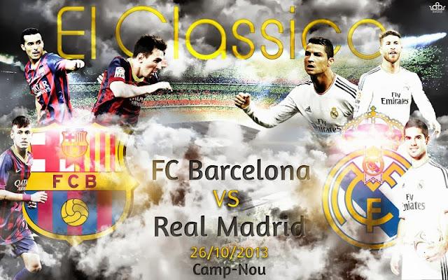 El Clasico: Barcelona vs Real Madrid
