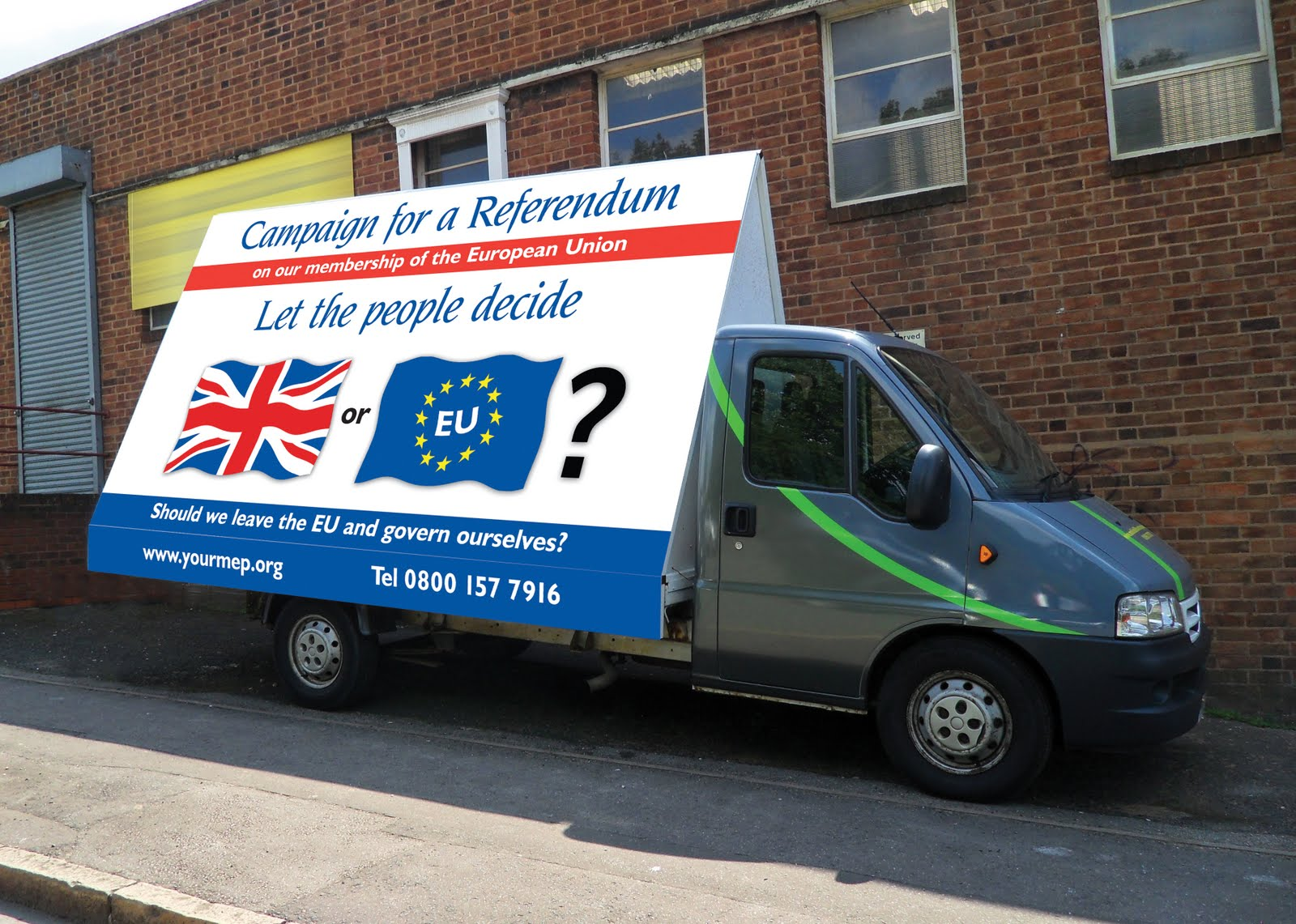 An Ad Van to join the Campaign!