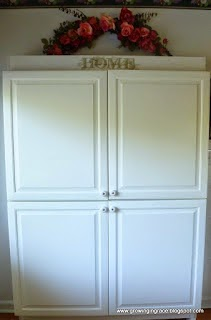 Garage Sale Kitchen Cabinet Makeover