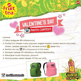 Lomba Foto Valentine's Day Berhadiah Backpack Jansport