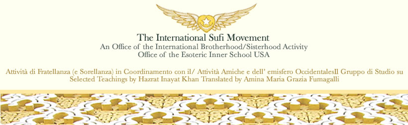 International Sufi Movement • Gruppo di Studio su Hazrat Inayat Khan