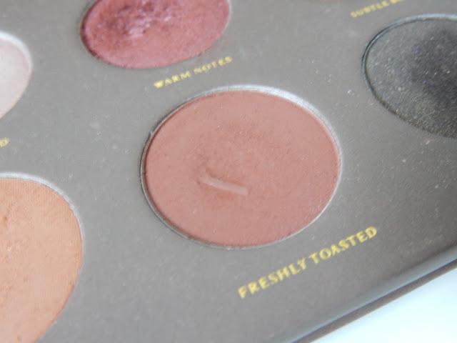 Zoeva Cocoa Blend Lidschattenpalette Freshly Toasted