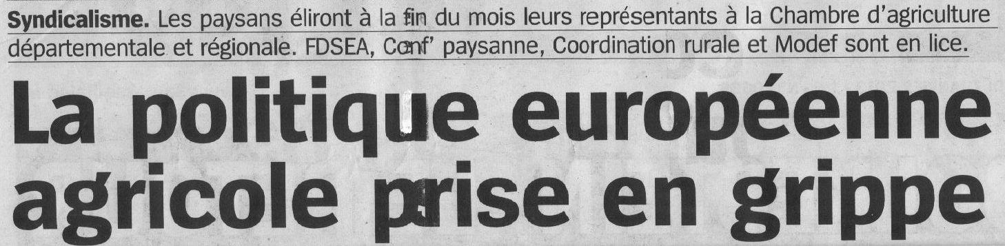 Paysans du languedoc roussillon bient t appel s voter - Chambre d agriculture du roussillon ...