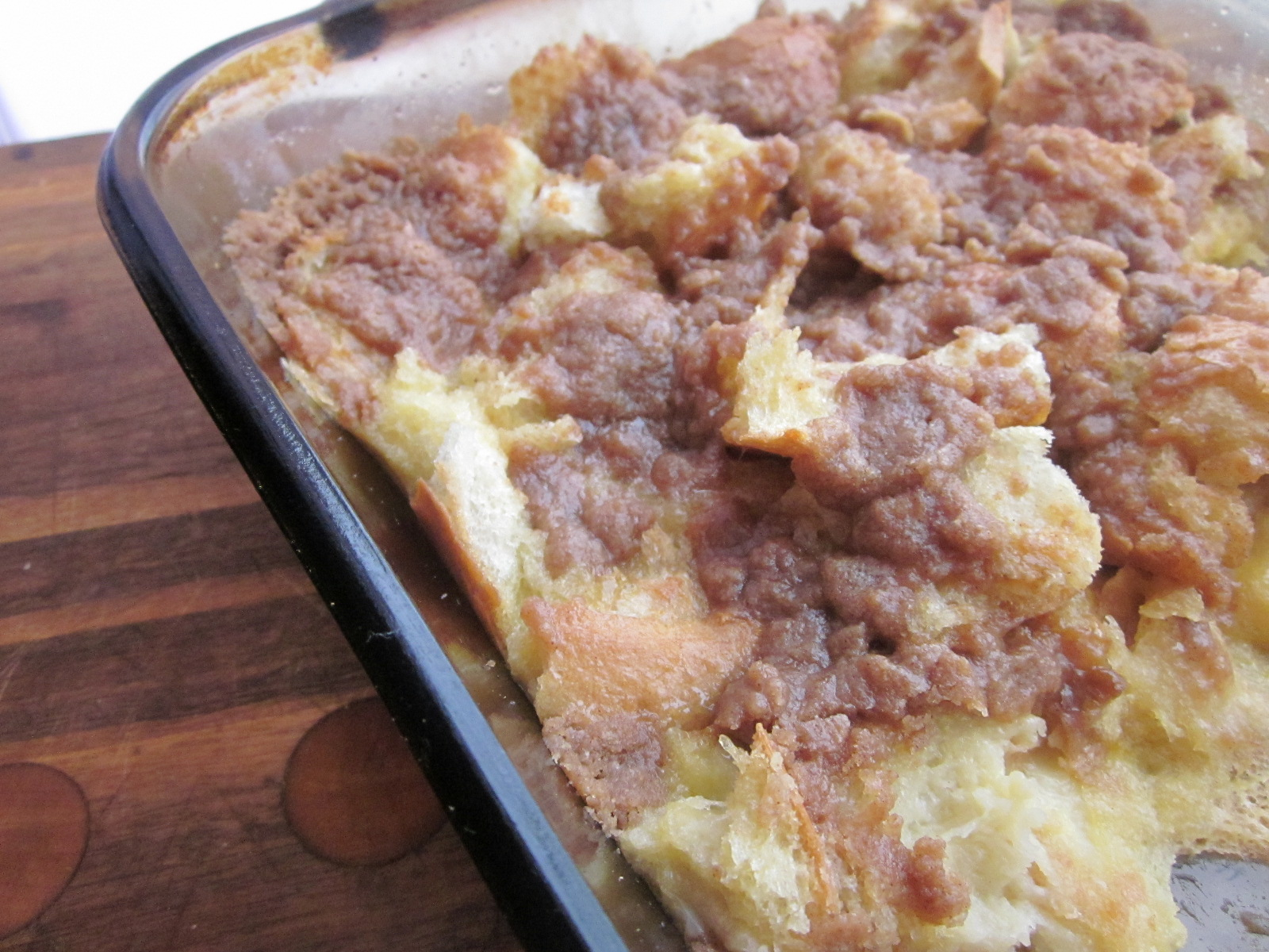 Sweet Luvin' In The Kitchen: Cinnamon Baked French Toast