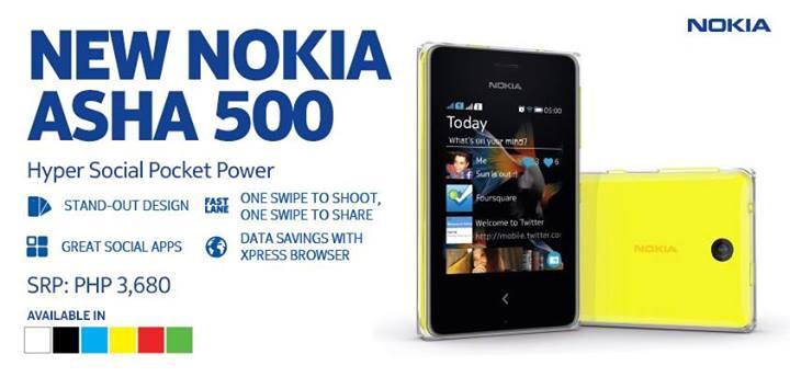 Nokia Asha 500 Price