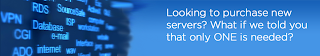 Looking to purchase new servers? what if we told you that only One is enough...
