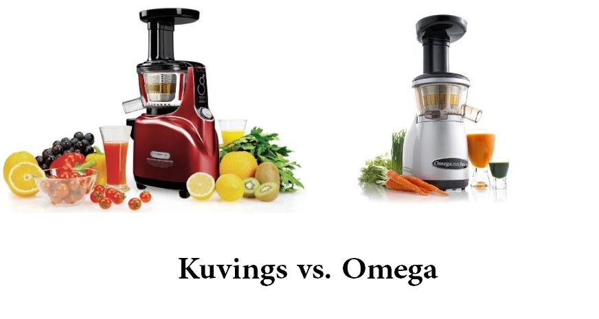 How To Lose Body Fat: Kuvings vs. Omega Juicer
