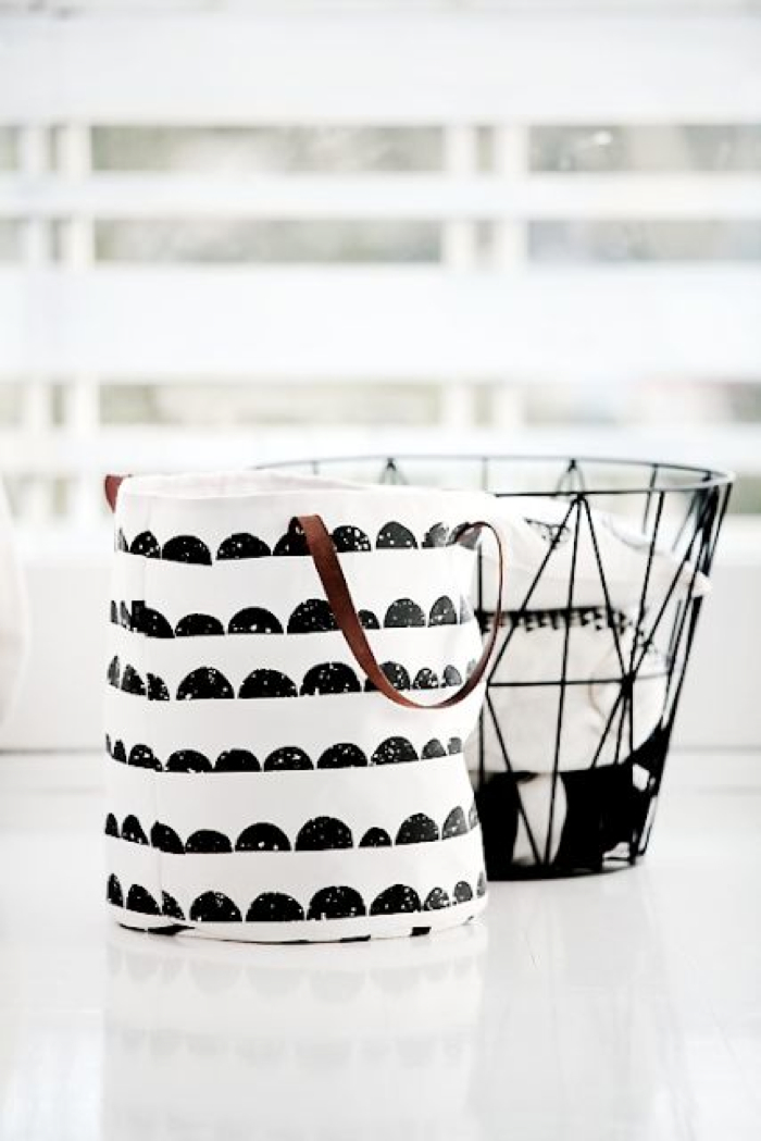 graphic basket - Ferm Living