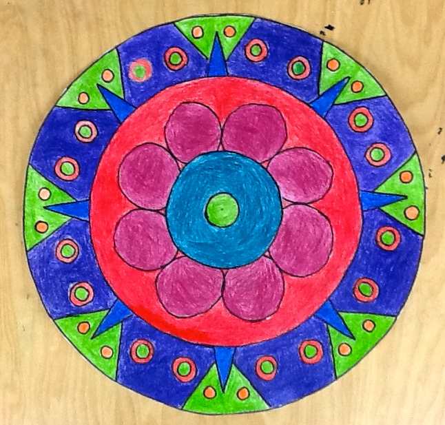 Radial Design Art : Mrs paul s art room mandala radial design