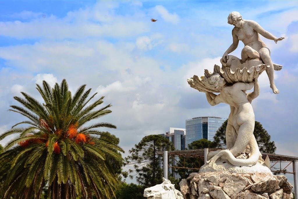 Nereids Fountain Buenos Aires