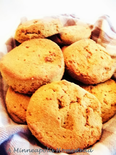 Low Carb Sweet Potato Biscuits