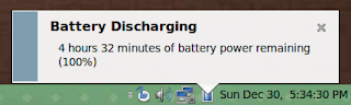 4 hours 32 minutes of battery power remaining at 100%