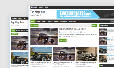 Download Topmagz Blogger Template - Mas Sugeng
