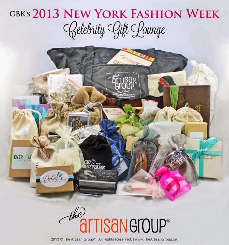 The Artisan Group GBK 2013 New York Fashion Week Celebrity Swag Bag