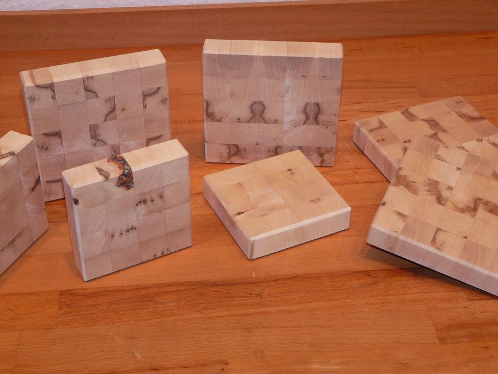tobi 39 s holzjournal hirnholz untersetzer aus ahorn. Black Bedroom Furniture Sets. Home Design Ideas