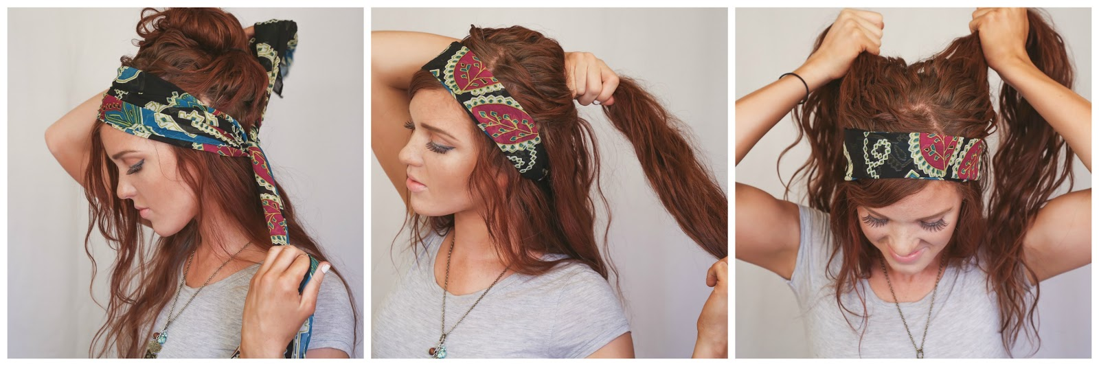 The Freckled Fox Festival Hair Week Bohemian Gypsy Style