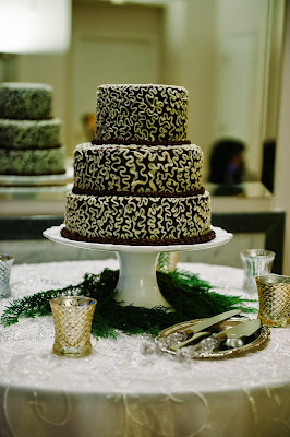 GF Chocolate Wedding Cake!