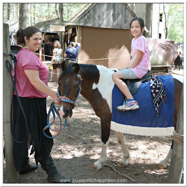 Pony Ride at King Richard's Faire 2015 #krfaire