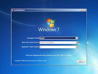 Cara instal windows 7 dan 8 menggunakan flash disk 1