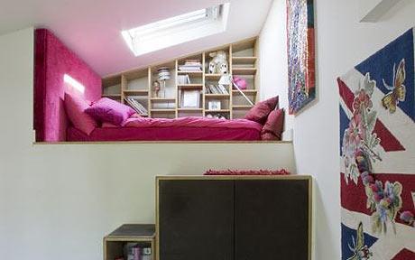 Mezzanine bedroom on pinterest mezzanine contemporary for How to build a mezzanine floor for bedroom