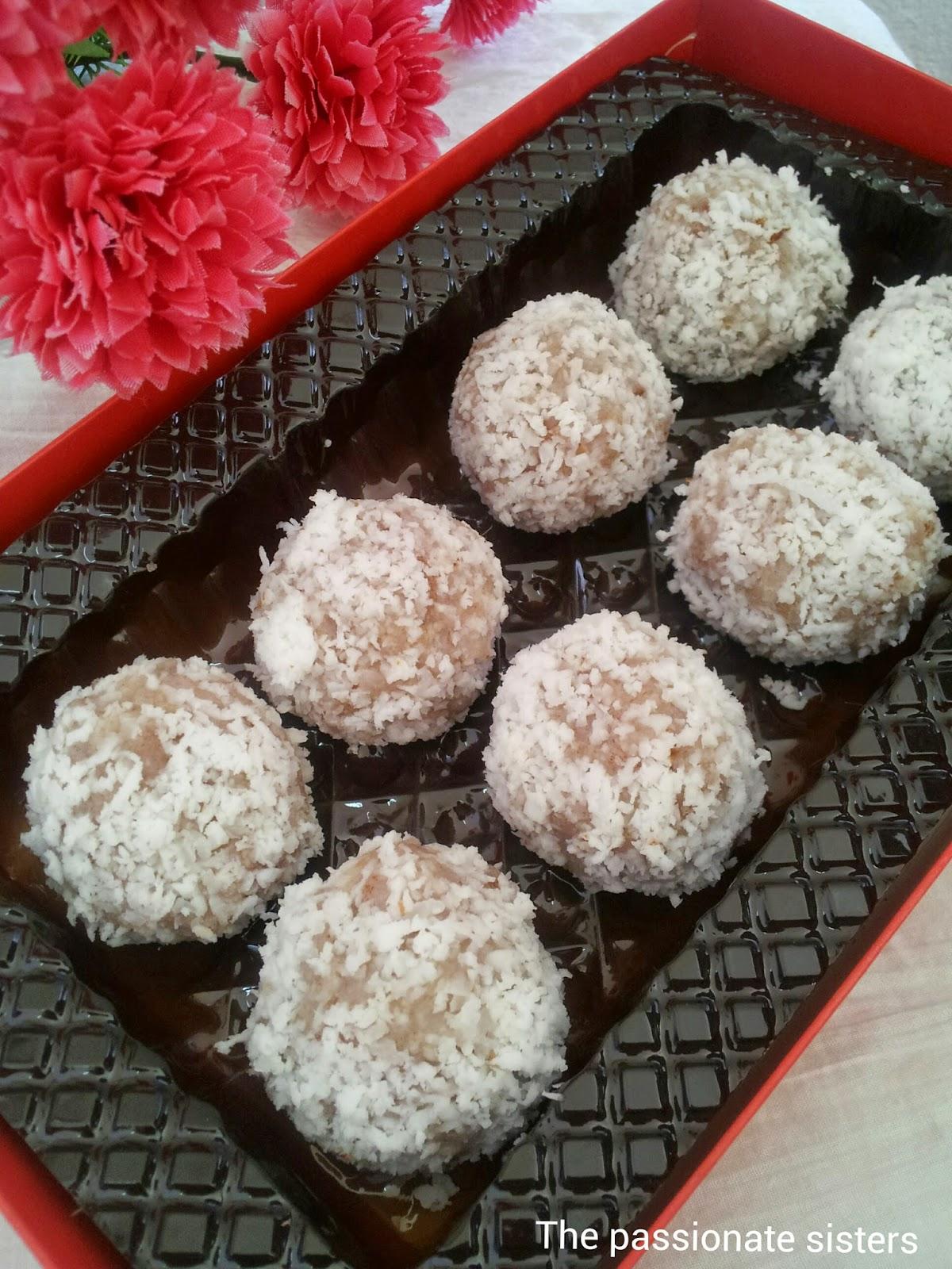 aval truffles,poha truffles, healthy breakfast truffles