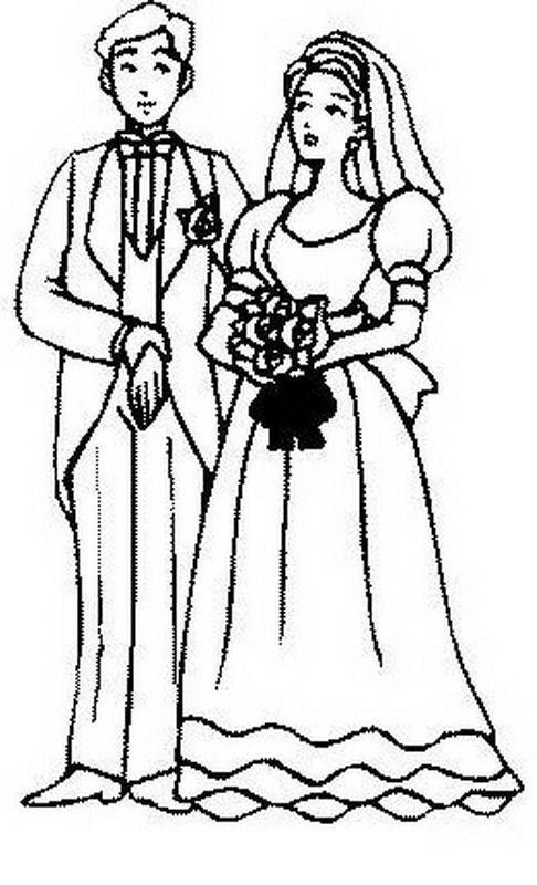 Matrimonio de simon bolivar para colorear - Imagui