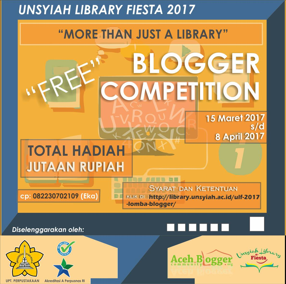 UNSYIAH LIBRARY FIESTA 2017