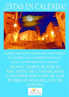 Cartel del CIT de Candelario Salamanca sobre Calenda original