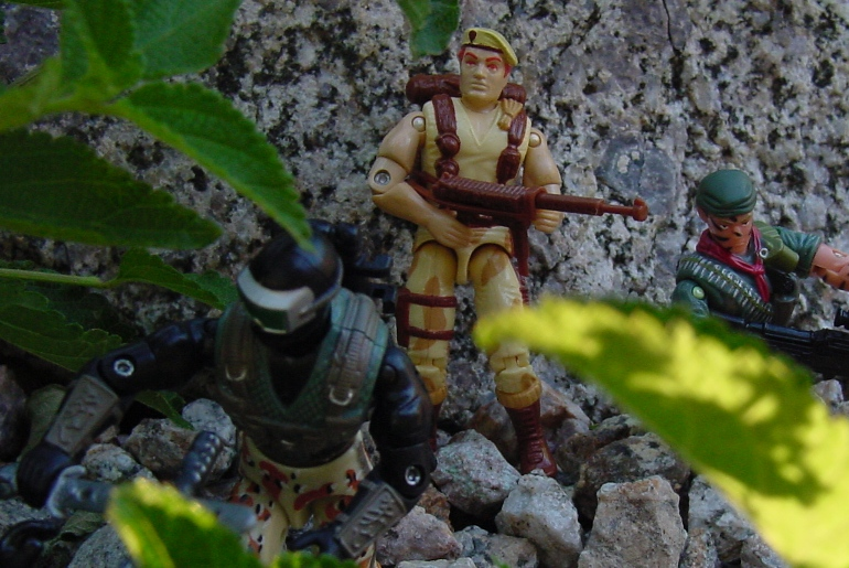 1991 Dusty, 2005 Desert Patrol Snake Eyes, Tunnel Rat