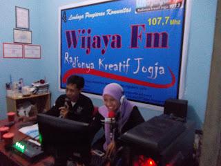 radio komunitas Wijaya Fm