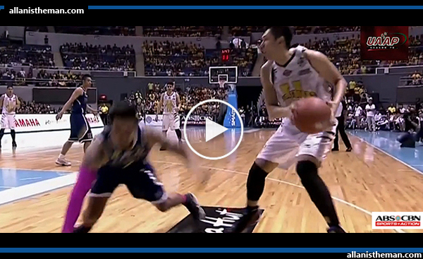 UAAP 78: UST's Kevin Ferrer NASTY Ankle Breaker On NU's Kyle Neypes (VIDEO)