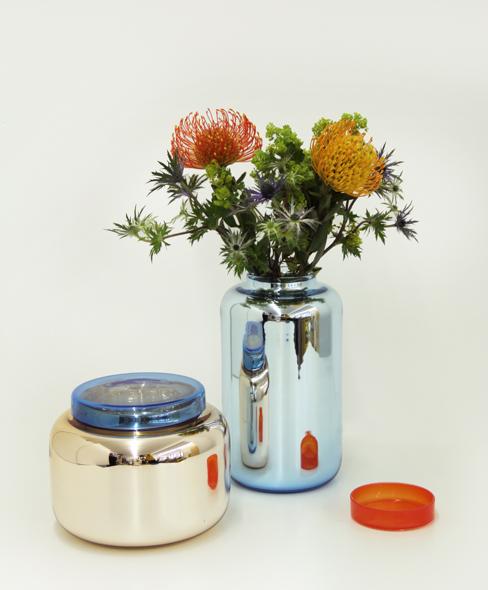 Sebastian Herkner vaser der også kan bruges til opbevaring