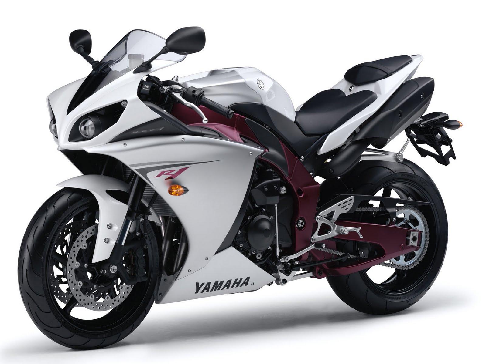 Yamaha Yzf R1 White