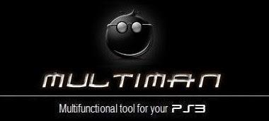 Download MultiMan V 4.78.00 Terbaru Untuk PS3 CFW 4.78 Gratis