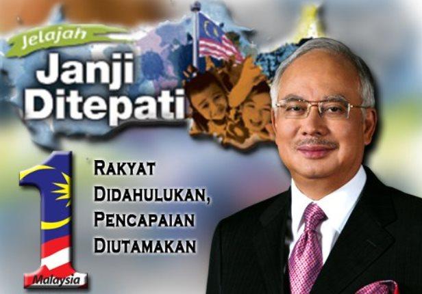 Janji diTepati Najib