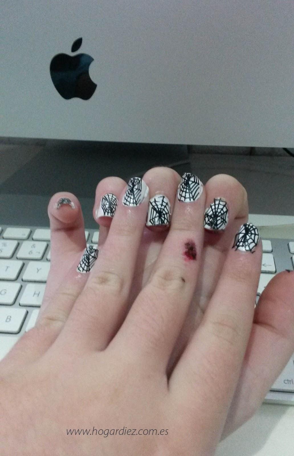 Halloween uñas pintadas