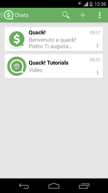 Quack Messenger