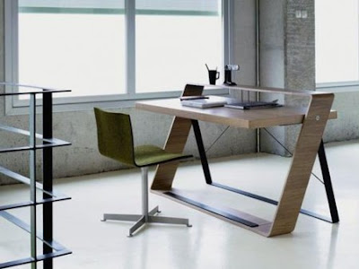 Home Design Bulego Desk Minimalist Office Furniture