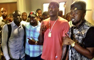 First Photos of Iceprince Balling with Meek Mills in Philadephia