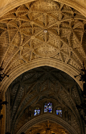 Ceilings of the Catedral de Santa Maria de la Sede, Sevilla