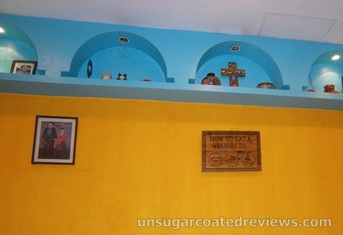 decors at Mexicali in Robinson's Place Ermita Manila