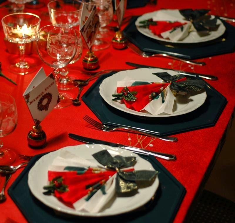 Decoracion de mesas navide as color rojo - Mesas para navidad decoracion ...